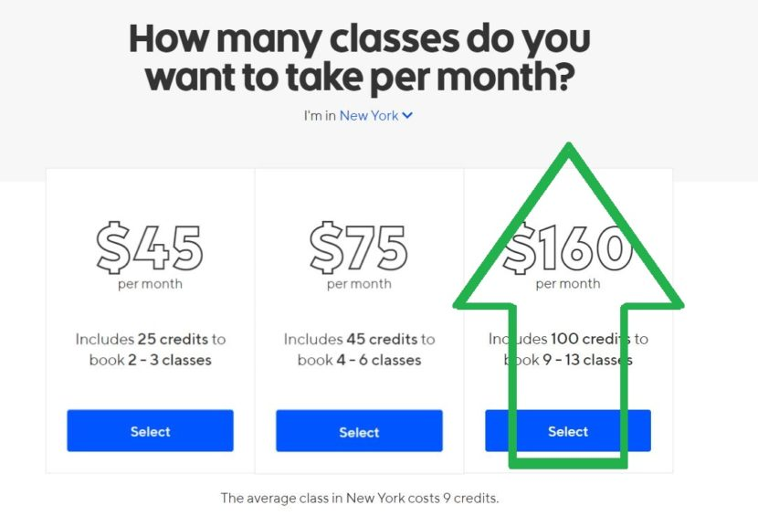 classpass raises prices again in new york city starting in august